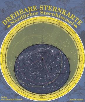 Drehbare Sternkarte mit Planetzeiger, Ø 22 cm