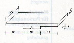 Kopfzeilenmagnet zur Kennzeichnung der Klasse 18x30mm, dunkelgrün