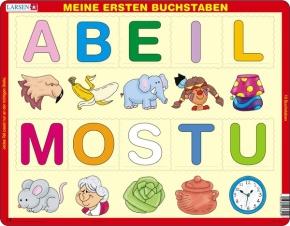 Puzzle - Meine ersten Buchstaben, Format 36,5x28,5 cm, Teile 10