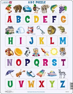 Puzzle - Puzzlespaß mit Buchstaben, Format 36,5x28,5 cm