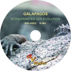 DVD-Video: Galápagos - Schaufenster der Evolution, 52 min