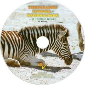 DVD-Video Tierparadies Etoscha-Nationalpark