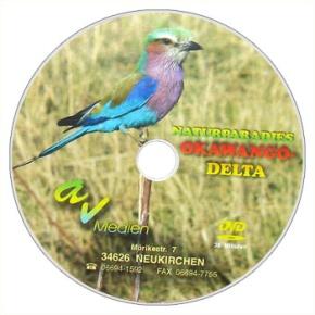 DVD-Video Naturparadies Okawango-Delta