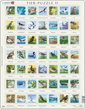 Puzzle - Tiere 2, Format 36,5x28,5 cm, Teile 49